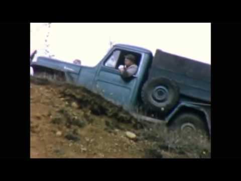Deer Hunting with a Willys Jeep Truck in the 1950's