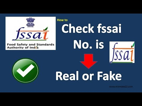 How to check fssai licence no. is real or fake 🔍🔍!! exist or not !! active or not !! full details