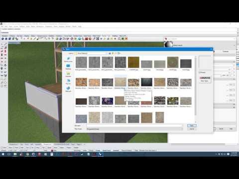 Rhino 3D: Applying Textures & Rendering - Tutorial