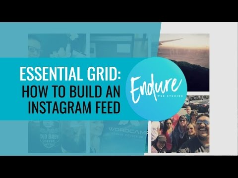 Essential Grid - How to add an Instagram Feed