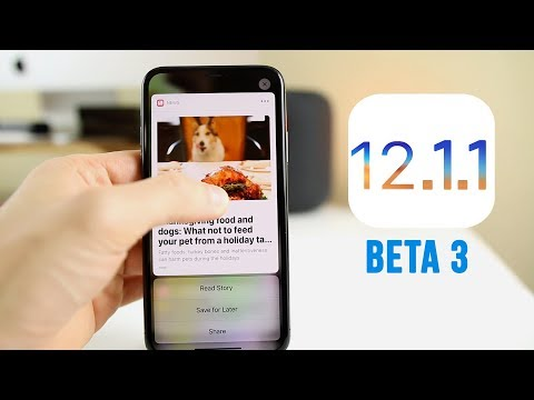 iOS 12.1.1 Beta 3 Released - What's New?