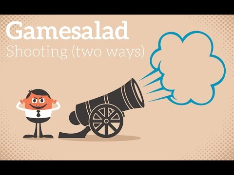 Gamesalad Shooting (two ways)