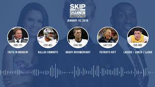 UNDISPUTED Audio Podcast (1.10.18) with Skip Bayless, Shannon Sharpe, Joy Taylor | UNDISPUTED