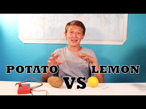 Why Does A Potato Battery Work Better Than A Lemon Battery?