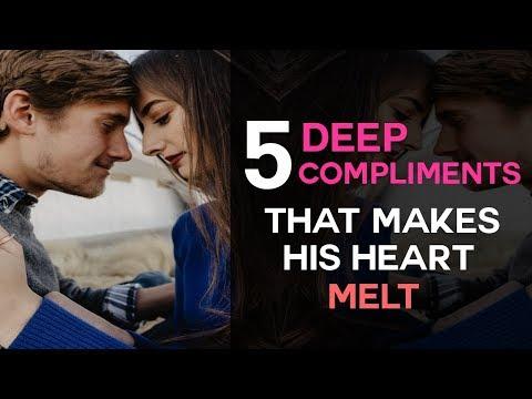 5 DEEP Compliments That Make His Heart Melt