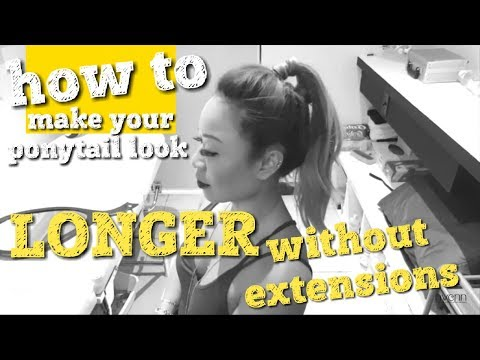 day 8: how to make your hair look LONGER without extensions