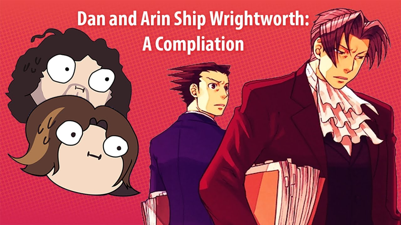 Dan and Arin Ship Wrightworth ~ Game Grumps Compilation
