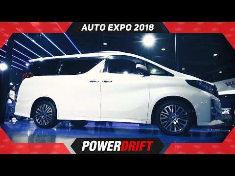 2018 Toyota Alphard : The Toyota India Needs : PowerDrift