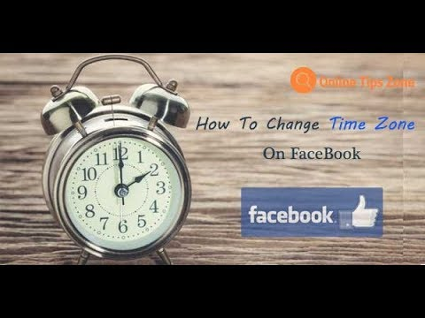 How to change TimeZone of facebook