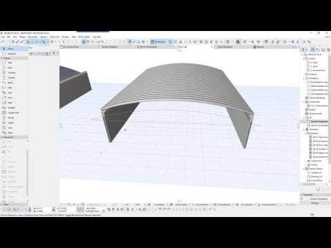 ARCHICAD ARCOTECHO   ARC ROOF VERSION FORMA  MORPH
