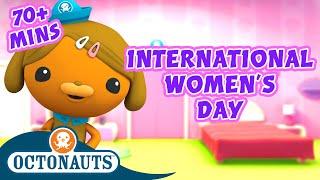 Octonauts - Women of the Sea: International Women's Day | 70 Mins+ Special! | Sea Education for Kids