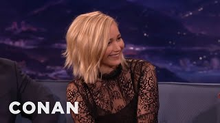 """Jennifer Lawrence Slept With Her """"Hunger Games"""" Co-Stars  - CONAN on TBS"""
