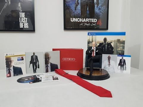Hitman Collectors Edition & Steelbook Edition Ps4 unboxing