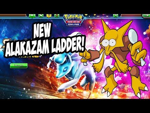 PTCGO Playing the new Alakazam Versus Ladder!(Pokemon TCGO Livestream)