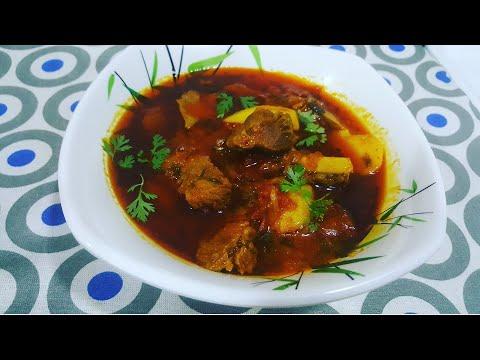 Aaloo Tamate ka Sherwa/ Potato Tomato Curry/ A Recipe Of Gulbargha