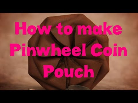 How to make Pinwheel Coin Pouch