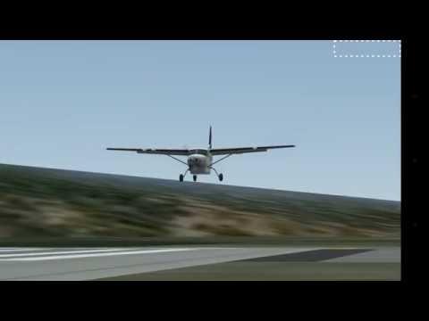 Infinite Flight - Landing at St.Barthélemy (St.Barths) Gustaf III Airport