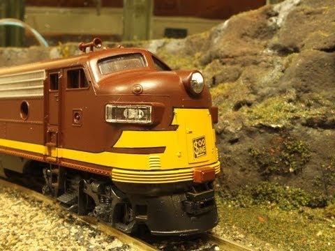 Roco FP7 HO scale model train