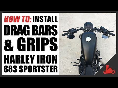 HOW TO: Install Drag Bars on Harley-Davidson Sportster