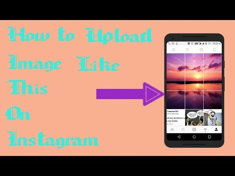 How to upload Big Giant Square image on Instagram