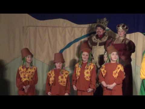 The Princess and the Pea: Machias Elementary, 2016-2017