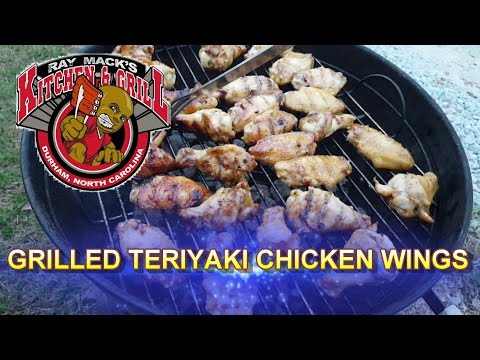 Grilled Teriyaki Chicken Wings: How To Make Teriyaki Chicken Recipe