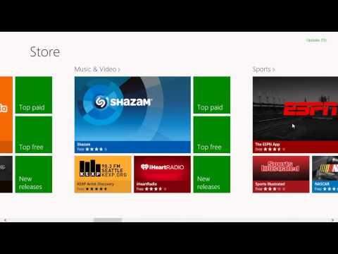 How to install Skype App on Windows 8 via App Store