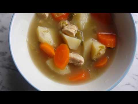 Quick Delicious Chicken & Vegetable Broth/Soup
