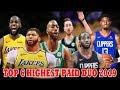 TOP 6 HIGHEST PAID SUPERSTAR DUO Ngayon Sa NBA