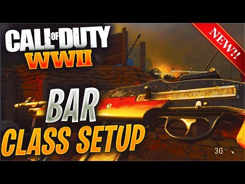 BEST BAR CLASS SETUP AFTER NEW DIVISIONS UPDATE  IS  🔥 🔥  (OVERPOWERED BAR CLASS SETUP IN COD WW2)