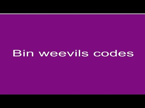 40 AMAZING BINWEEVILS CODES!!!! (DOSH, MUCLH, XP AND MORE!)