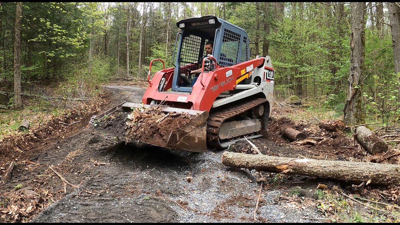 Fixing a gravel driveway