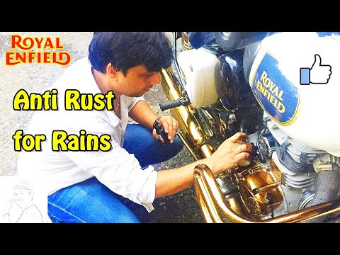 How to apply Anti Rust on your Bike  | Tips and Tricks |