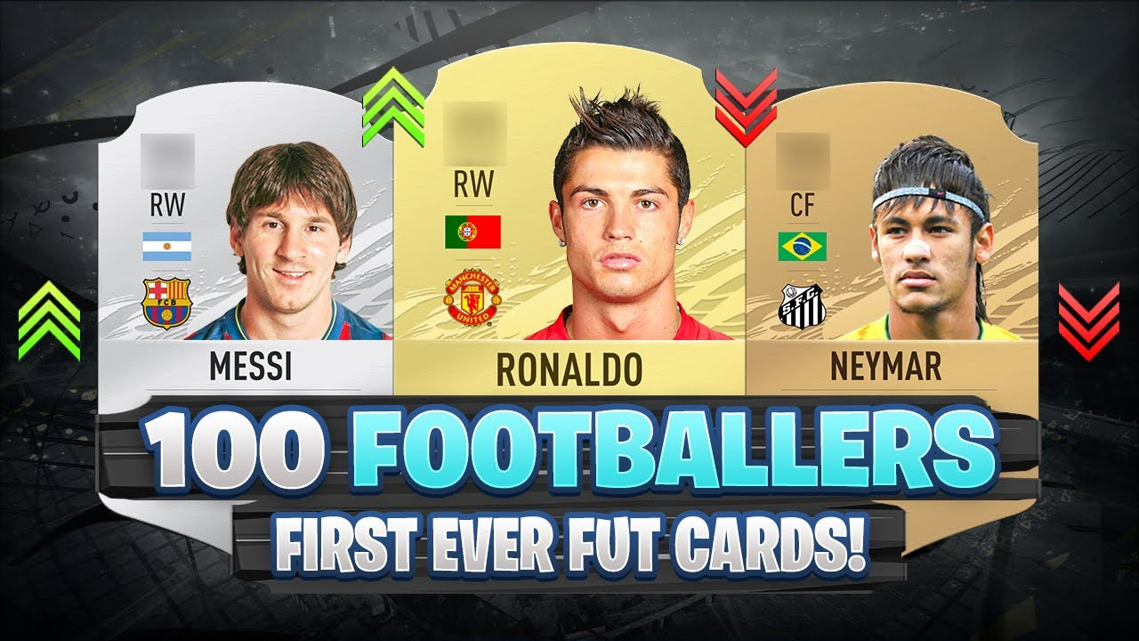 100 Footballers FIRST AND PRESENT FUT Cards! 😱🔥 FIFA 09 - FIFA 21