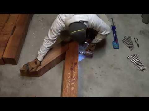 How to Build a Pergola - Part 1 (Pre-Assembly)