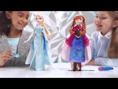 Hasbro - Disney Frozen - Canada - Elsa's and Anna`s Magical Story Cape - B6700 & B6701