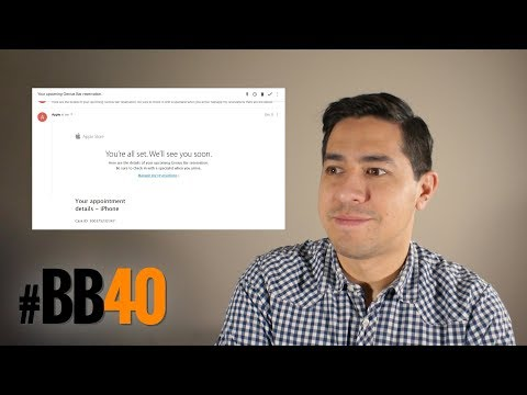 #BB40 | Day 75 — Fake Genius Bar Reservations