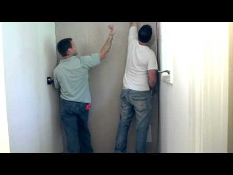 Onyx Shower Installation - Wall Panels