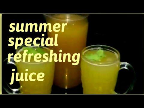 Aam Panna Recipe - kairi ka Aapshola-Raw Mango Juice- Aam Panna Recipe in Hindi