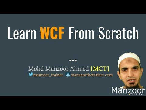 Passing Objects As Parameters In WCF (WCF Part  3)