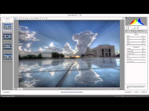 Processing Multiple Images in Adobe Camera Raw