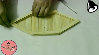 How to make Popsicle Stick Ship || Popsicle Stick Craft || Ice cream Stick Craft