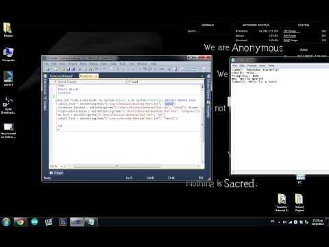 External Settings File For Visual Basic
