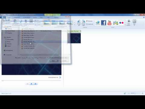 How to create a lyrics video with Windows Live Movie Maker