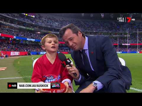 2018 NAB AFL Auskicker of the Year – Rd 6 Nominee