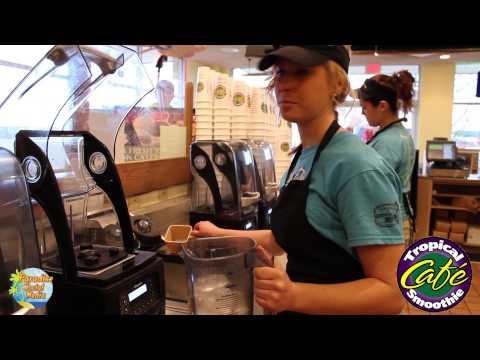How to Make a Smoothie @ Tropical Smoothie - FXBG, VA