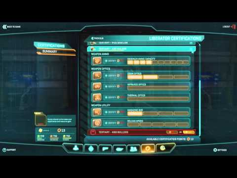 Planetside 2 - Liberator Upgrade & Certification Guide (Planetside 2 Guide/Tutorial)