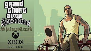 GTA: San Andreas Sh¡tmastered (Xbox Series S) Gameplay