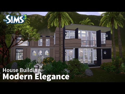 Modern Elegance | The Sims 3 House Building