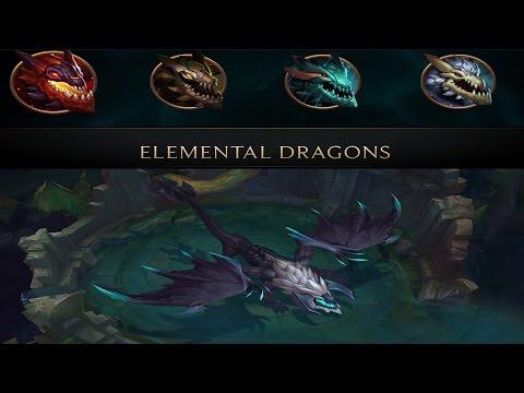 League Of Legends: Elemental Dragon Update (Mid Season Patch)